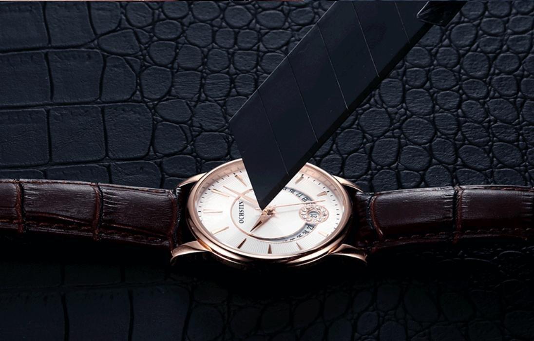 Damen Uhren Mode Diamanten6Amazon Ochstin Leder Schweizer Gaohl sQrdth