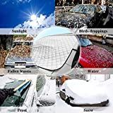 Onbio Car Windscreen Cover Heat Sun Shade Windshield Dust Frost Protector Car Rack Parts & Accessories