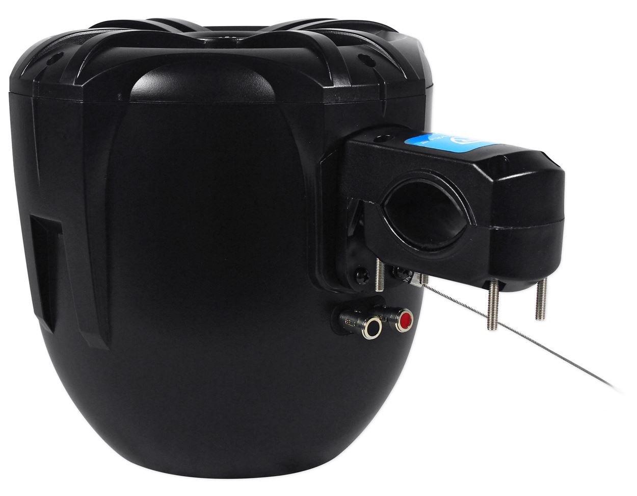 Rockville 2 Easymount Soundbar Roll Bar Speakers 8 Jeep Tj Sound Wiring 600 W Waterproof For Wrangler Sports Outdoors