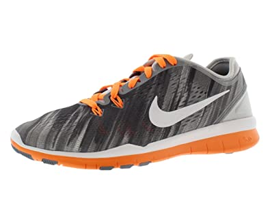 separation shoes ff9a7 b29ad Nike Free 5.0 TR 5 Fit PRT Womens Bright Citrus White Pure Platinum