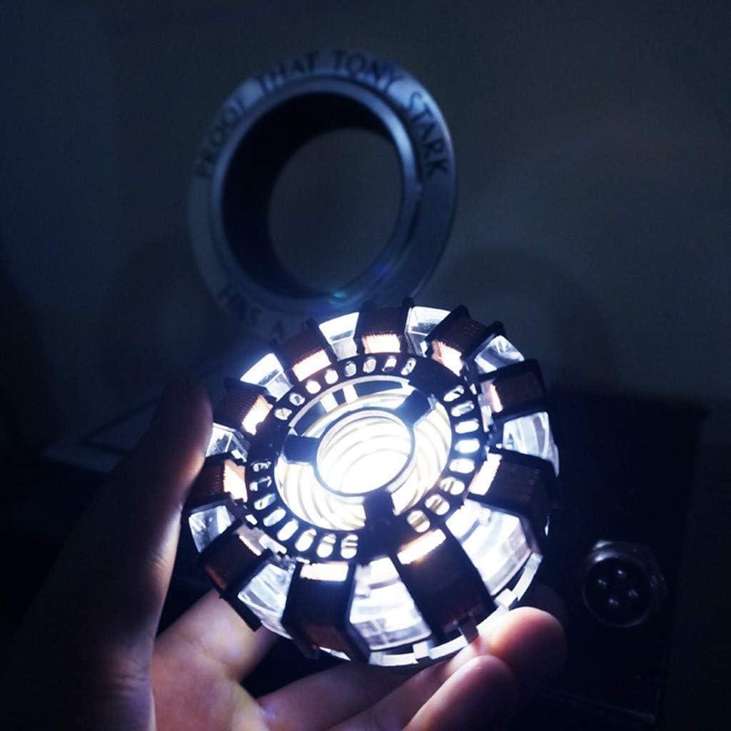 QYF Titan Hero 1: 1 MK1 Fer r/éacteur Homme en Alliage m/étallique y Compris des lumi/ères et Afficher la bo/îte sans Assemblage Coffre l/éger Aliment/é par USB