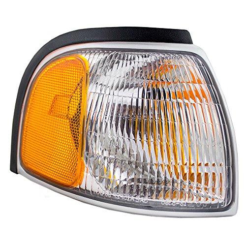 Passengers Park Signal Corner Marker Light Lamp Lens Replacement for Mazda Pickup Truck 1F0051121
