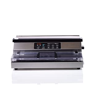 """VacMaster PRO380 Suction Vacuum Sealer with Extended 16"""" Seal Bar"""