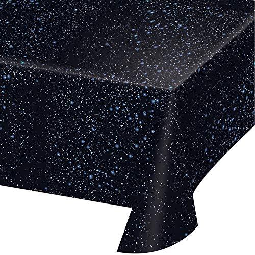 (Space Blast Plastic Tablecloths, 3 ct)