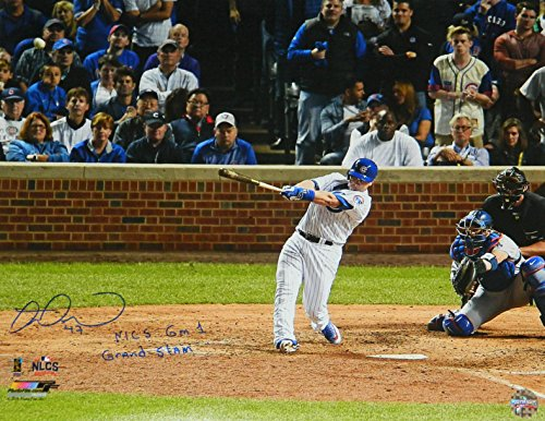 Miguel Montero Signed Chicago Cubs 2016 NLCS Game 1 Grand Slam 16x20 Photo w/NLCS Gm 1 Grand Slam