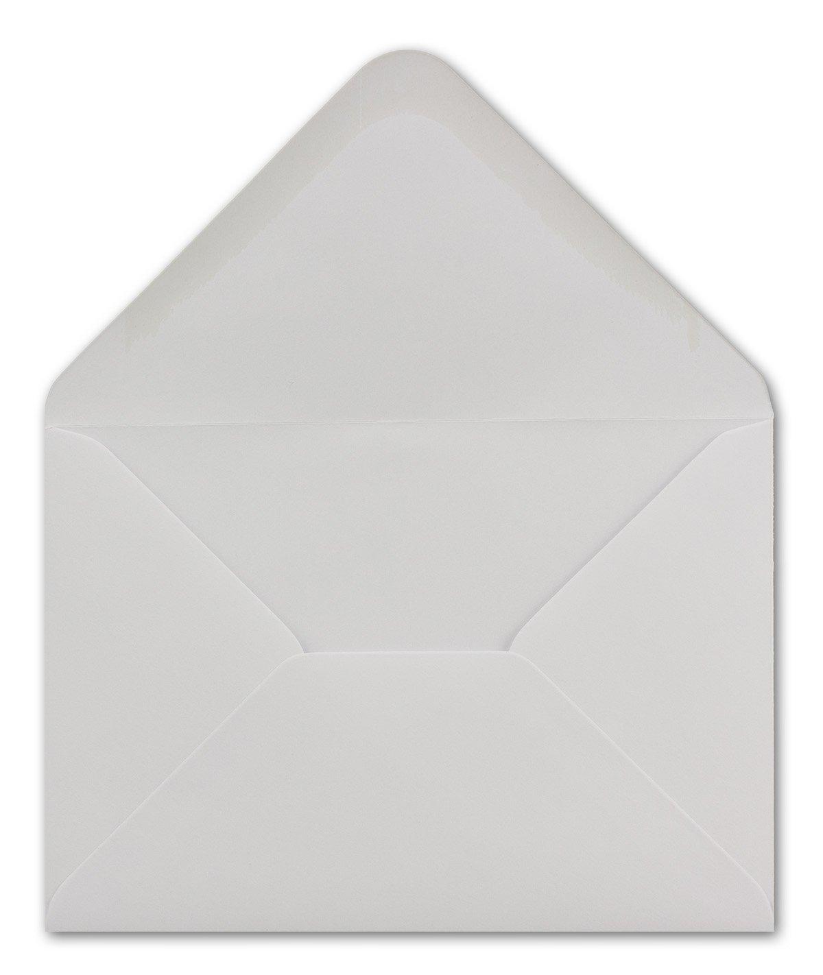 300 DIN C6 Briefumschläge Weiss 11,4 x 16,2 16,2 16,2 cm - 100 g m² Nassklebung Brief-Hüllen ohne Fenster für Einladungen von Ihrem Glüxx-Agent B07G88S4L9 | Abgabepreis  | Neu  | Spielzeugwelt, fröhlicher Ozean  120c41