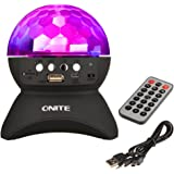 Onite® Mini Altoparlante Bluetooth portatile ricaricabile , bluetooth boxe Wireless Speaker,supporto TF card di gioco e la funzione FM (nero)