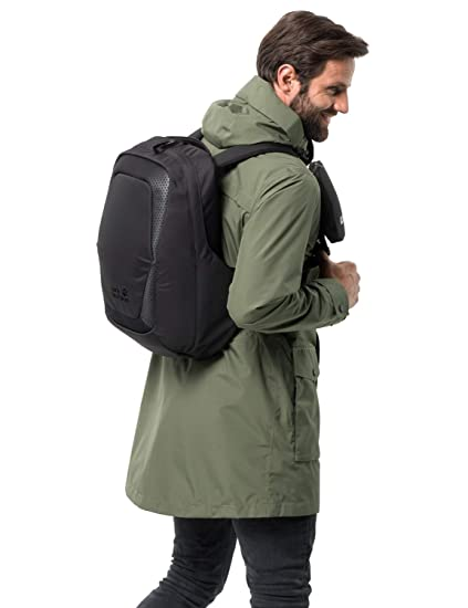 34d3cf0d8b2 Amazon.com: Jack Wolfskin Power On 26L Anti-Theft Backpack with USB Port,  14