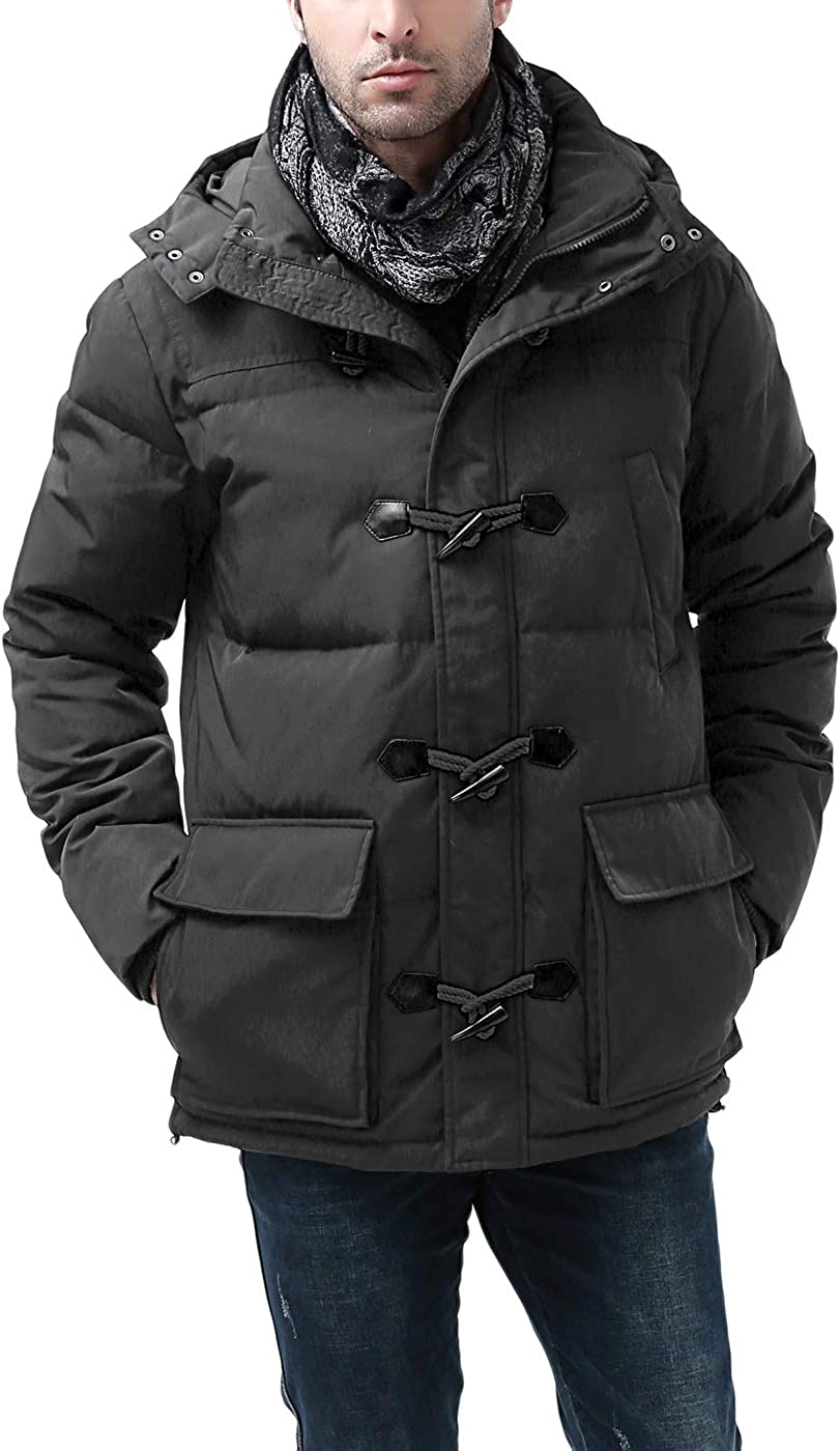 Complete Free Shipping BGSD Men's Connor Hooded Waterproof Parka Down Coat Bombing free shipping Regu Toggle