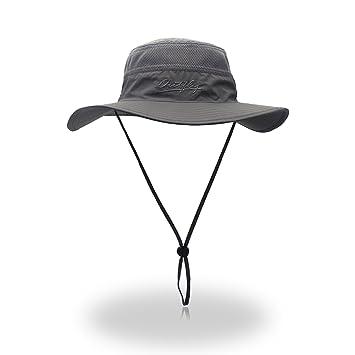 Kata - Sombrero para Hombre con Sombrero Ancho para Protección Solar al  Aire Libre e6e4d574d1a