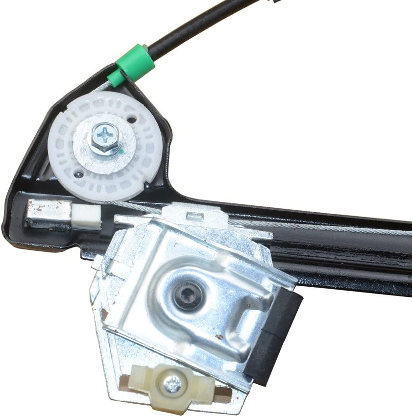 A-Premium Power Window Regulator without Motor Replacement for BMW E39 525i 528i 530i 540i M5 Front Left Driver Side