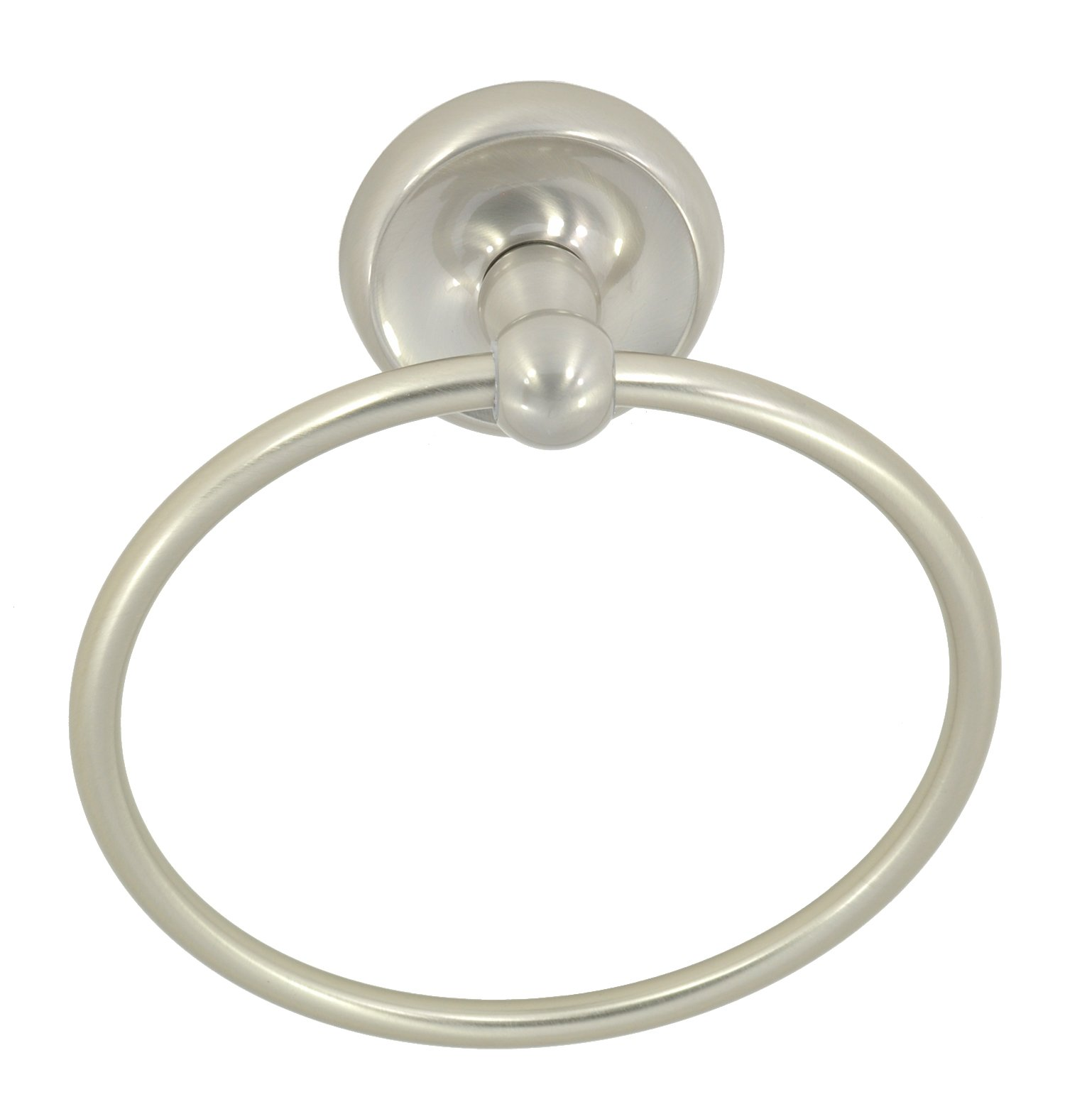 Better Home Products Miraloma Towel Ring, Satin Nickel
