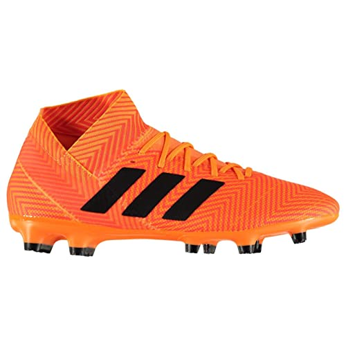 Official Adidas Nemeziz 18.3 Firm Ground Football Boots Mens Orange Soccer  Shoes Cleats d5be27e59