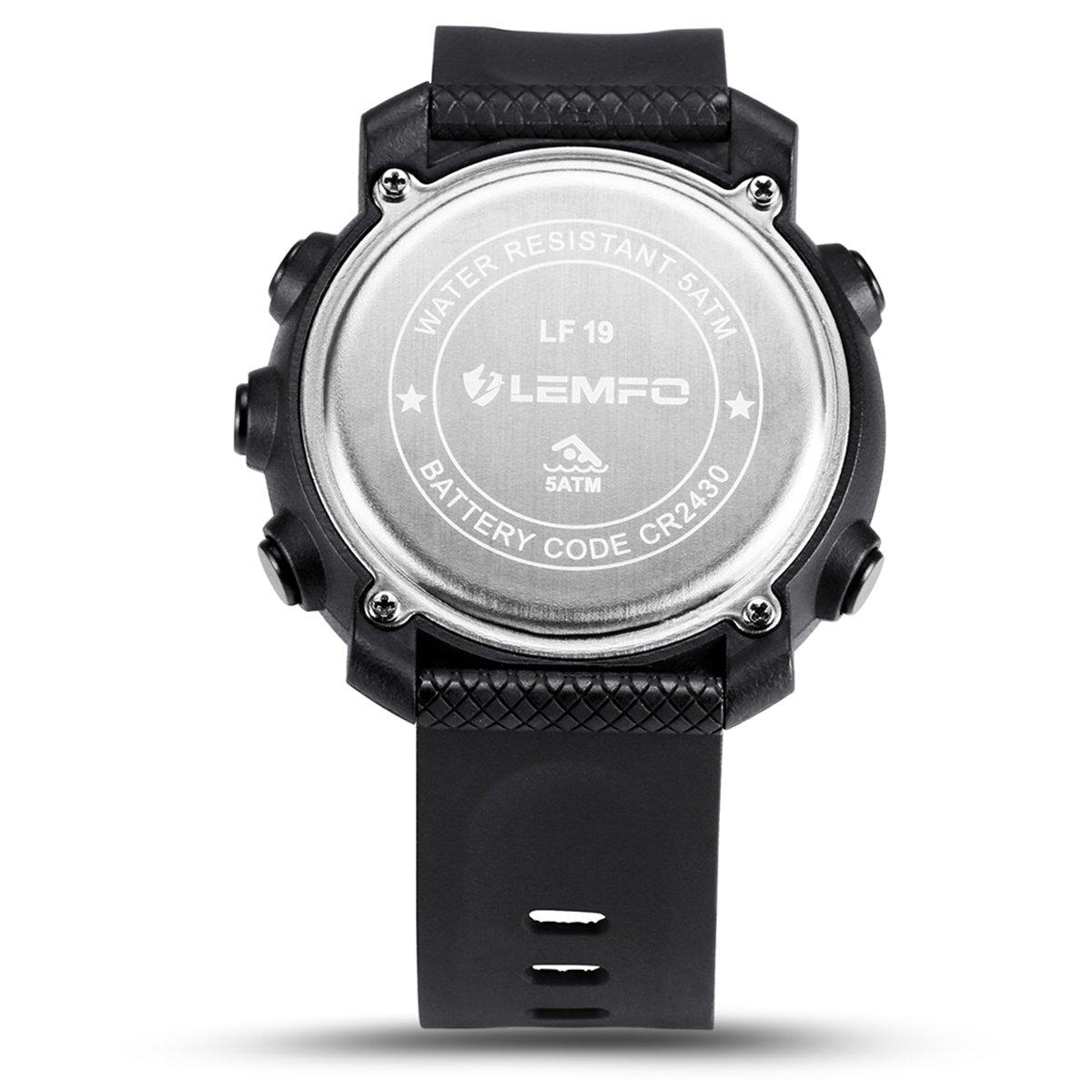 nicerio LF19 reloj inteligente impermeable hombres mujeres ...