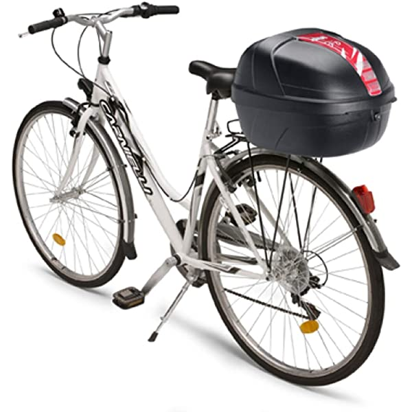 Givi CY14N Bicicleta Baúl, 14 litros, Color Negro, Maximo 2 Kg de ...