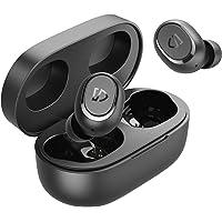 SoundPEATS TrueFree2 Wireless Earbuds Bluetooth 5.0 Headphones in-Ear Stereo IPX7 Waterproof Sports Earbuds, Monaural…