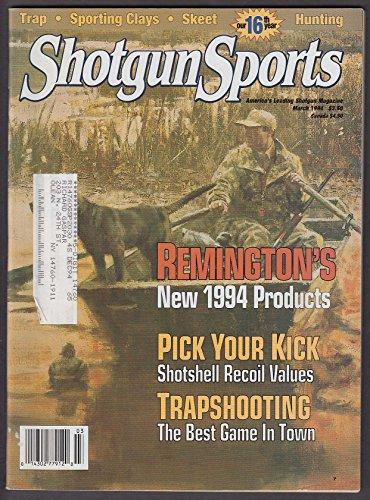 SHOTGUN SPORTS Remington Trap Reloads Black Bear Slugs ++ 3 1994 (Remington Shotgun Slugs)