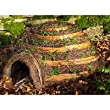 Wildlife World Hedgehog Igloo Home (One Size) (Brown)