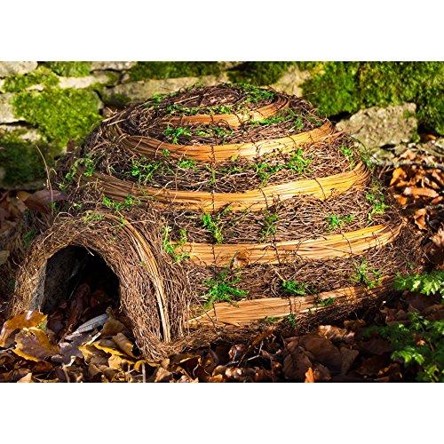 Wildlife World Hedgehog Igloo Home (One Size) (Brown) by Wildlife World Ltd (Image #1)