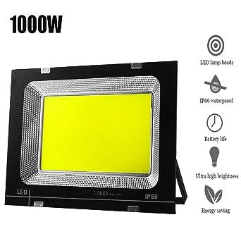 Foco Proyector LED, El Ahorro Energía Super Brillante Impermeable ...