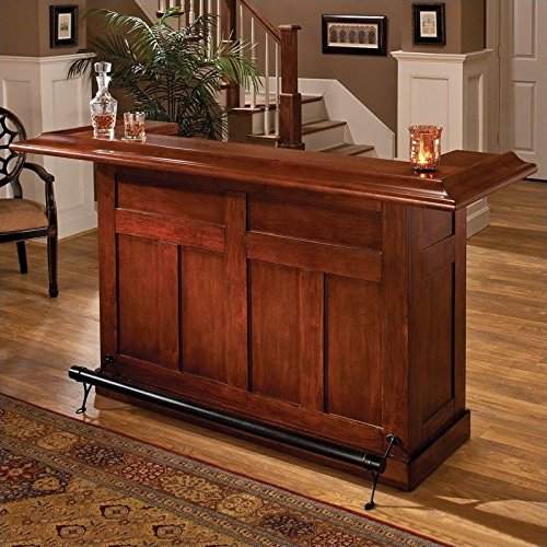 Large Cherry Finish Bar (Hillsdale 62578ACHE Classic Bar, Large, Cherry finish)