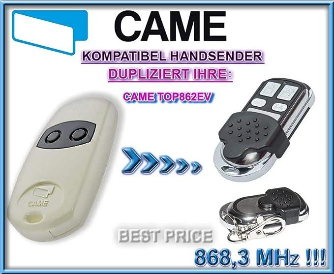 Combin/é de copieuse compatible avec Came 432EE ; /émetteur /à code tournant t/él/écommande porte-cl/és pour porte de garage et portail