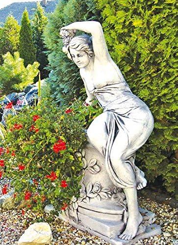 Mujer inclinada Akt (S350) Jardín figuras Escultura Estatua de piedra 141 cm: Amazon.es: Jardín