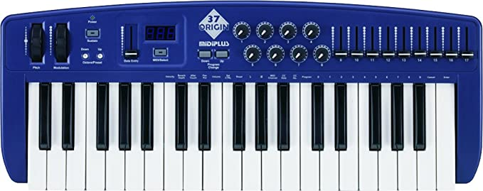 Amazon.com: midiplus Origin 37 USB MIDI Keyboard Controller: Musical Instruments
