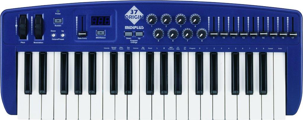 midiplus Origin 37 USB MIDI Keyboard Controller by Midiplus