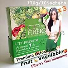 Premium Weight loss by Perfect Detoxifying Colon Excretory Toxic Residues CTP Platinum Fiberry Diet Plus Garcinia & Vegetable Extract Good excretory