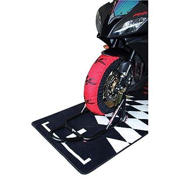MotoGP estándar neumático calentadores UK 3 Pin - 200/55 - 17 trasera: Amazon.es: Coche y moto