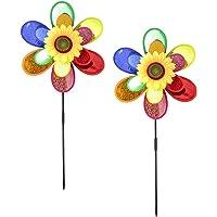 com-four® 2X carillón de Viento, Flor de Molino