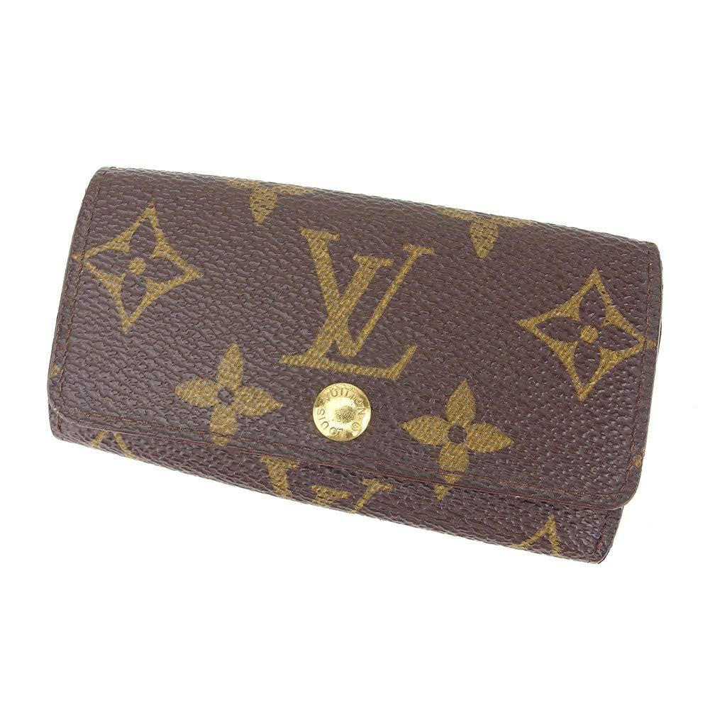 (ルイ ヴィトン) Louis Vuitton キーケース モノグラム ブラウン ベージュ ゴールド レディース メンズ 中古 D1939   B07KY85KQX