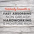 Udderly Smooth Body Cream Skin Moisturizer, 12 Ounce Jar (Pack of 6)
