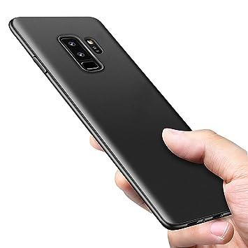 opamoo Funda Galaxy S9 Plus Flexible Samsung Galaxy S9 Plus Carcasa Silicona Ultra Delgado TPU Bumber Case Anti-Rasguño Absorción de Choque Resistente ...
