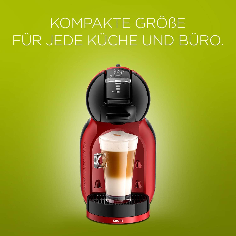 Krups Dolce Gusto Mini Me KP120H - Cafetera de cápsulas, 15 bares ...
