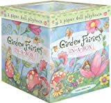 Peaceable Kingdom Award Winning Garden Fairies In-A-Box Paper Doll Playset