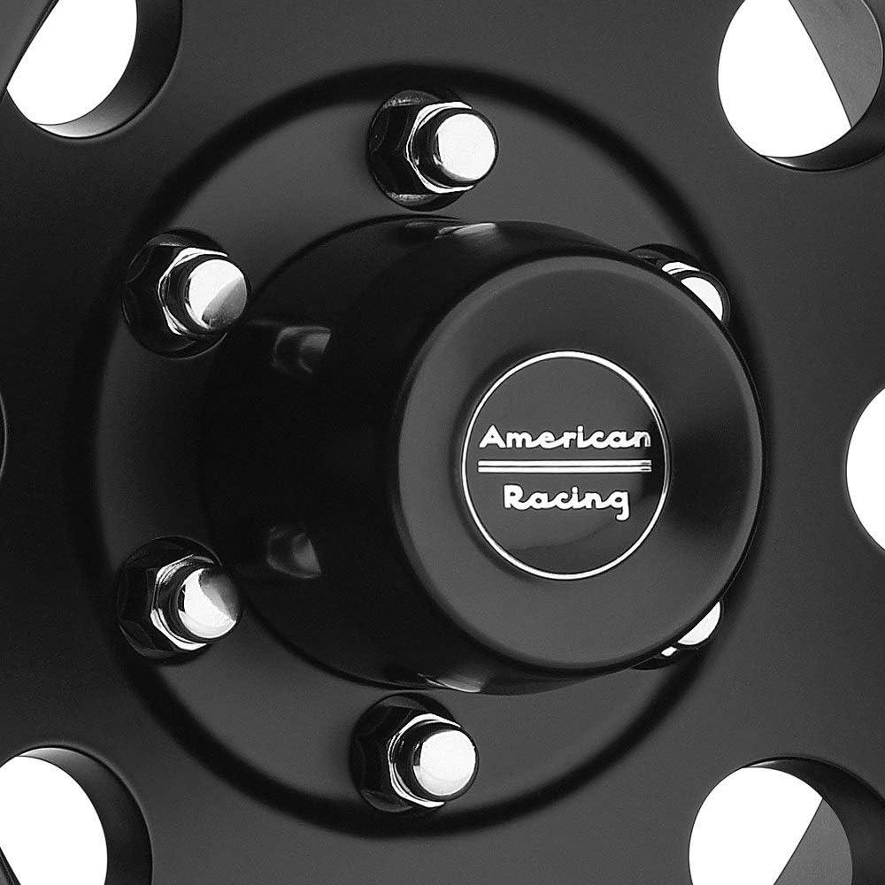 16x10//8x170mm, -25mm offset American Racing AR172 Baja Satin Black Wheel