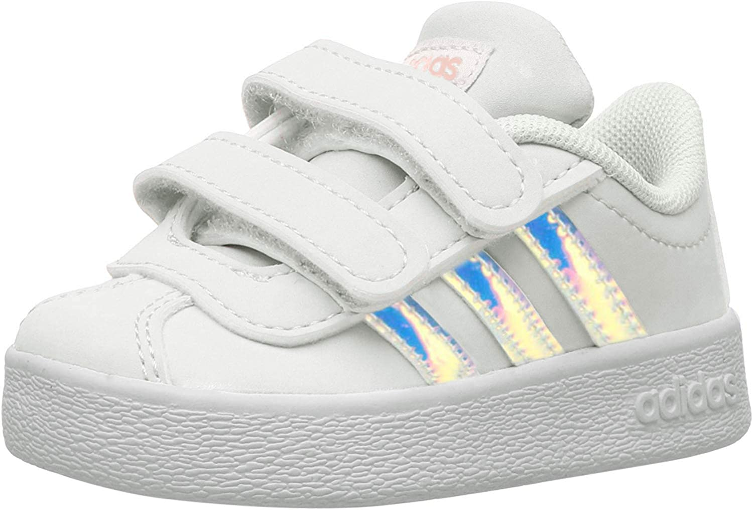 Hornear Tanga estrecha Palacio  Amazon.com: adidas Vl Court 2.0 Infant White/C Blue Infant Shoes: Clothing
