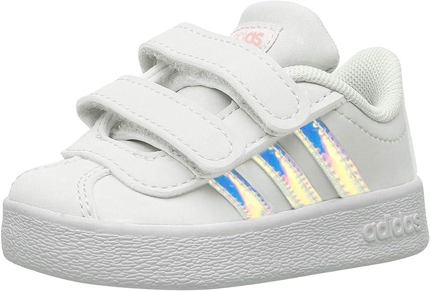 adidas Vl Court 2.0 Infant White
