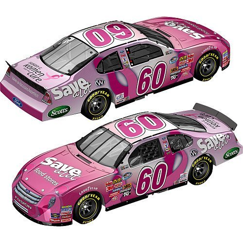 Susan G. Komen 2009 Action Racing Collectibles #60 Carl Edwards Save-a-lot (Limited Edition Collectable) 1:64 Scale Stock Car - Nascar Diecast Car Nationwide Series
