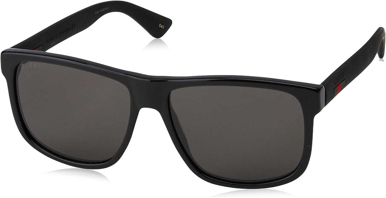 Gucci Sonnenbrille GG0010S-001-58 Rechteckig Sonnenbrille 58 -