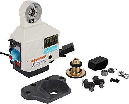 Power Feed X-Axis 135 Lbs Torque for Bridgeport Knee Milling Machines 0-210 RPM