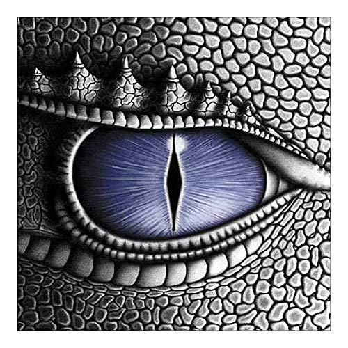 Macrorun Dragon's Eye 5D DIY Diamond Painting Kit Round Diamond Dotz Full Drill Cross Stitch Embroidery Rhinestones Mosaic Art Craft Kits Home Wall Picture Decoration 10