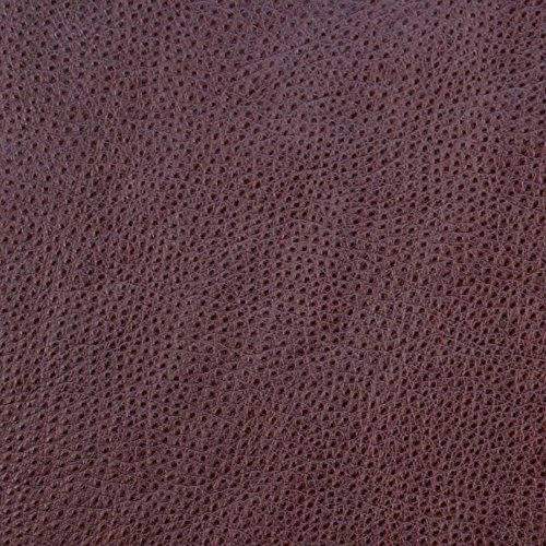 Ostrich Wine Fabric by the Yard, Upholstery, Vinyl, Leather, Solid, Purple, Luxury (Ostrich Leather Purple)