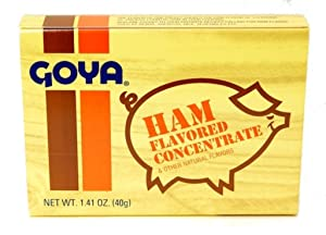 Goya Ham Flavored Concentrate - 1.41 oz Sabor a Jamon de Cocinar (2 packs)