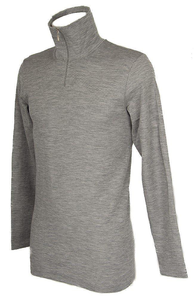 RAGNO Rollkragenpullover für Männer Langarm Sweatshirt WSK Artikel 60159K - 85% Wolle und 15% Seide