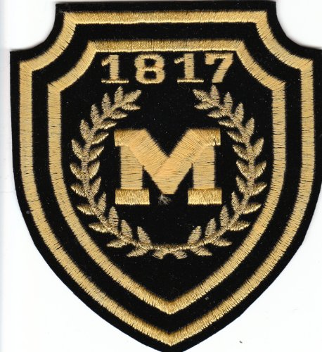 University Michigan 1817 Patch Wolverines product image