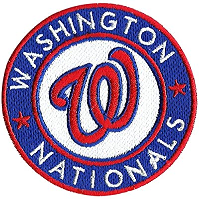 Washington Nationals Patch Logo Sew Ironed On Badge Embroidery Applique Patch 3.1""