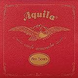 Aquila Red Series AQ-89 Baritone Ukulele Strings - Low D - Set of 4